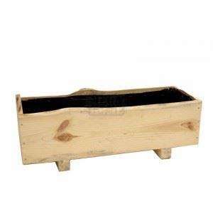 Дървена кашпа, 75 х 27 х 25 см N-art