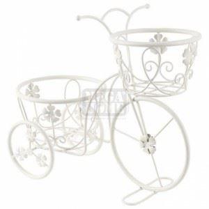 """Цветарник """"Велосипед с цветя"""" за 2 саксии N-art"""