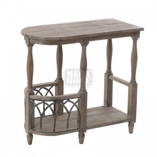 Дървена конзола Inart 66 x 31 x 62 см