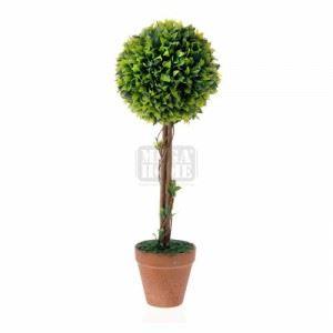 Изкуствено дърво в саксия, 50 см Inart