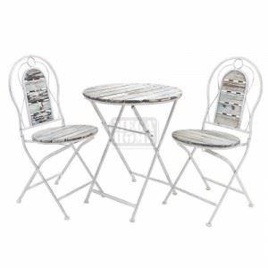 Маса и 2 стола комплект Inart