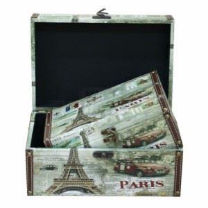 Дървени сандъци Paris 2 бр. Inart