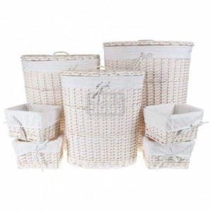 Комплект кошове за пране и панери, 7 части Inart