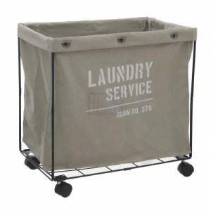 Кош за пране със стойка, 60 х 36 х 60 см Inart