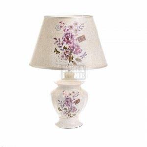 Лампа за маса N-art 28 х 42 см екрю