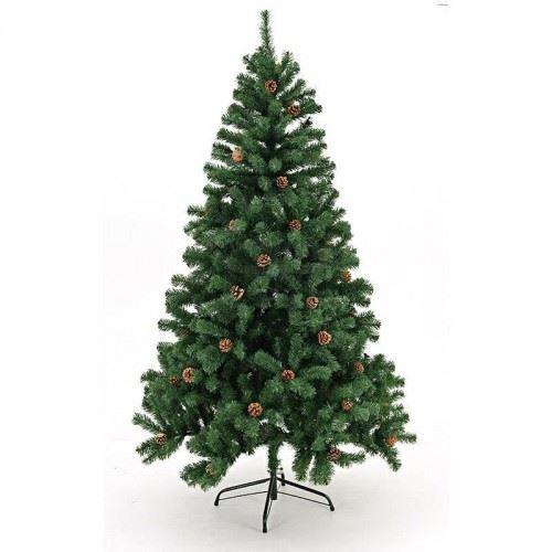 Коледно дърво с шишарки Inart 1.80 м