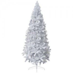 Бяло коледно дърво Iliadis 180 см