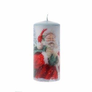 Коледна свещ Inart 8 х 18 см