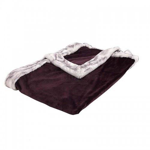 Декоративно одеяло за диван Inart 150 х 180 х 1 см