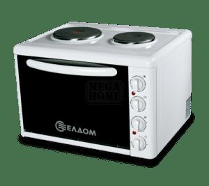 Готварска печка с чугунени нагревателни плочи 203vfе