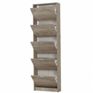 Шкаф за обувки N-art 58 х 18 х 191.5 см
