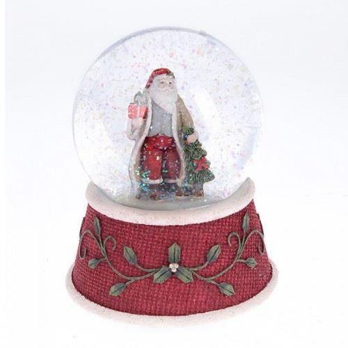 Преспапие Дядо Коледа Inart 11 х 11 х 15 см
