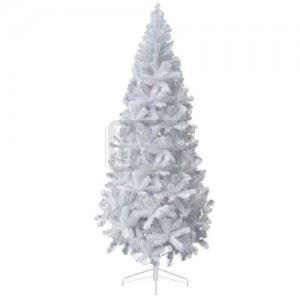 Бяло коледно дърво Iliadis 210 см
