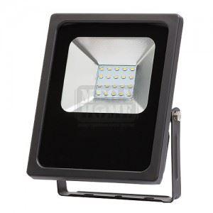 LED прожектор слим студена светлина Ultralux 90 - 260 V 20 W SMD