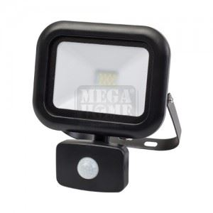 LED прожектор с датчик за движение Ultralux 10 W 4000K 220V IP44
