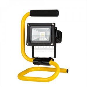 Презареждаем димиращ LED прожектор Ultralux 10 W 5500 K IP65