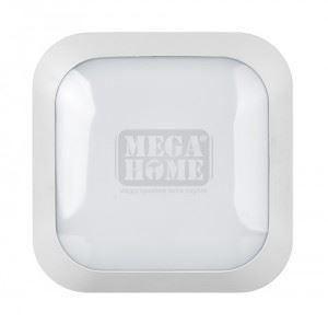 Водоустойчива LED плафониера Ultralux 220 V 14 W 4500 К IP66