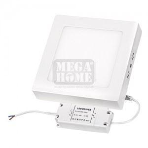LED панел за външен монтаж Ultralux 18 W 2700 K 220 V SMD2835