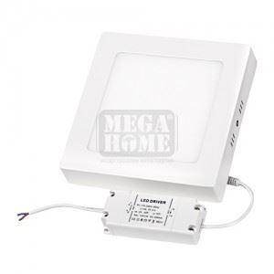 LED панел за външен монтаж Ultralux 12 W 2700 K 220 V SMD2835