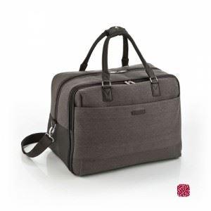 Пътна чанта лен и еко кожа Tivoli Gabol
