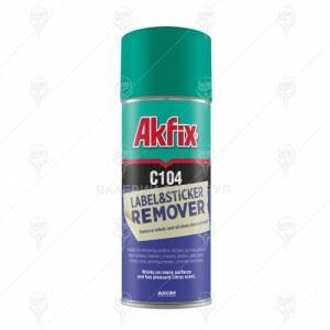 Спрей за премахване на етикети и стикери Akfix C104 24 х 200 мл