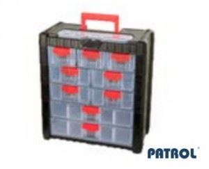 Органайзер 9 чекмеджета Patrol 392 x 200 x 400 мм