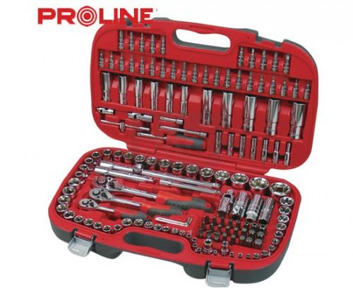 Комплект инструменти 1/2 3/8 1/4 Proline Professional 150 части