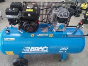 Въздушен компресор Abac A29B 200/320 с бензинов двигател