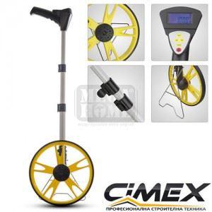 Измервателно колело 318 мм дигитално CIMEX DMW100