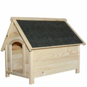 Натурална къща за куче XL