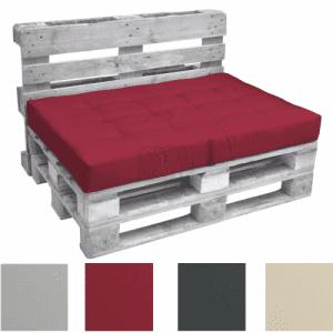 Палетна възглавница седалка Лукс 120 х 80 х 15 см