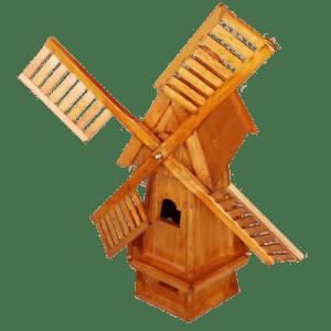 Декоративна мелница за градина 42 х 36 х 80 см