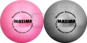 Топка за художествена гимнастика Maxima 20 см