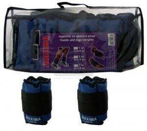 Тежести за крака и ръце чифт Maxima 1.5 кг ( 2 x 0.75 кг )