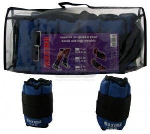 Тежести за крака и ръце чифт Maxima 3 кг ( 2 x 1.5 кг )