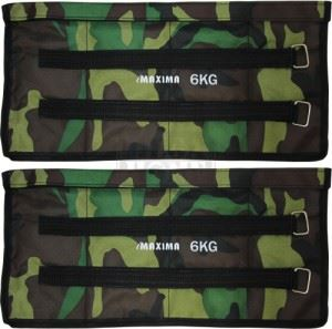 Тежести за крака Maxima с празни джобове 1 - 10 кг