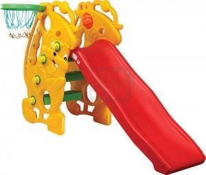 Пързалка с баскетболен ринг 153 х 53 х 100 см