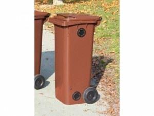 Пластмасова кофа на колела Profis 120 л БИО отпадъци