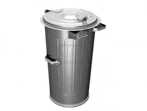 Метална кофа Profis 110 литра тип мева