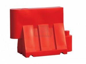 Пластмасови пътни бариери Profis 1000 х 600 х 400 мм
