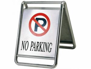 Подвижна табела Забранено паркиране Profis