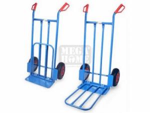 Манипулационна количка с подвижна рампа Profis 250 кг