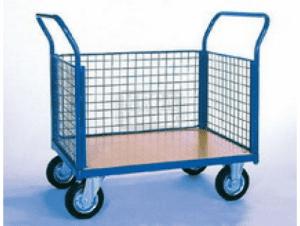 Платформена количка с мрежести стени Profis модел 4
