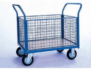 Платформена количка с мрежести стени Profis модел 5