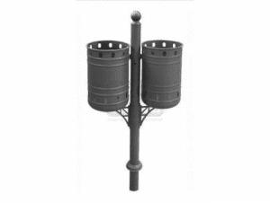 Двоен метален кош на стойка Profis