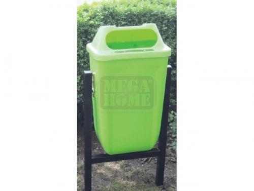 Единично пластмасово кошче на стойка Profis 50 л