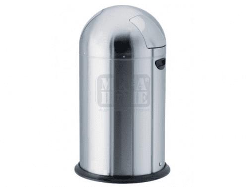Метален кош PUSH от неръждаема стомана Profis 35 л