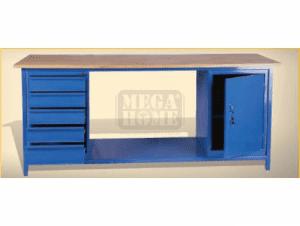 Монтажно бюро с вратичка и чекмеджета Profis 2000 x 700 x 855 мм