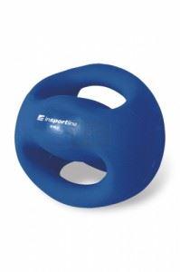 Медицинска топка с ръкохватки inSPORTline Grab Me 4 кг