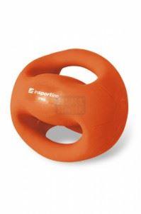 Медицинска топка с ръкохватки inSPORTline Grab Me 2 кг